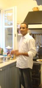 Vagaram in kitchen
