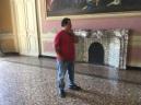 arrinving at Villa Bombrini